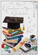 Grandson Graduation Card